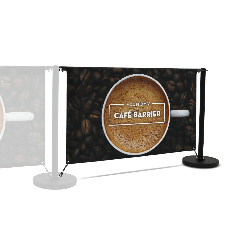 Economy Café Barrier (1500 Double-Sided Extension)