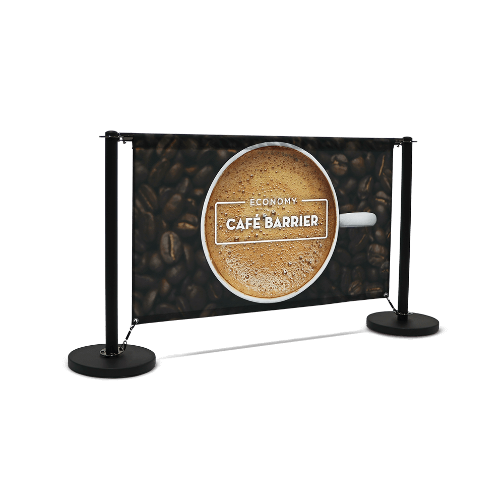 Economy Café Barrier (1500 Single-Sided Front)